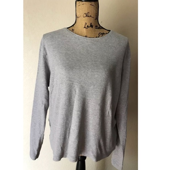 bcf2d473dc670 White Stag Women s XL Grey Basic Long Sleeve Shirt.  M 5b54cd2fdcf855456937c701